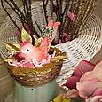 """Cute Pink """"nest"""" bird   $16.50"""