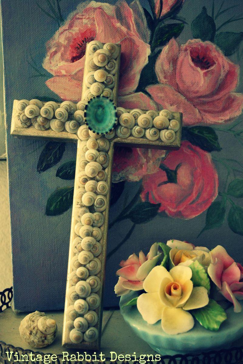 Shelled cross